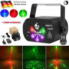 RGB 240 Muster LED Laser Projektor USB Party DJ Disco Bühnenbeleuchtung remote