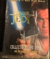 Decipher Star Wars Episode 1 YOUNG JEDI Collectible Card Game CCG Sample NFR