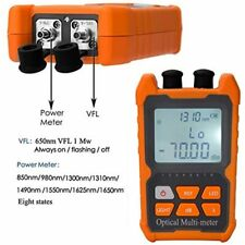 Fiber Optic Cable Tester Portable Optical Power Meter Fcscst Universal 1mw