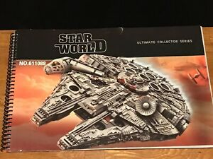 ucs millennium falcon - instructions only - lepin/king/moc (same as Lego 75192)