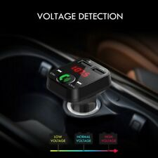 Wireless Bluetooth Car FM Transmitter MP3 Player Dual USB Charger Handsfree Set