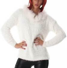 Damen-Pullover mit Stehkragen Größe 42
