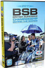 BRITISH SUPERBIKE BEHIND THE SCENES 2011 - DVD - REGION 2 UK