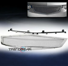 2009-2010 ACURA TSX FRONT MAIN UPPER STAINLESS STEEL MESH GRILLE CHROME BOLTON