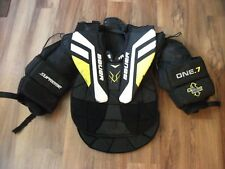 BAUER SUPREME ONE.7 HOCKEY GOALIE BODY ARMOR CHEST & ARM PROTECTOR ADULT SMALL
