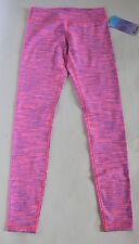 Ivivva Girls 14 Rhythmic Tight Diamond Jacquard Pants Zing Pink NWT Lululemon