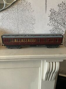 O Gauge LMS Period 2 3rd class Brake Guard Carriage Fully Lined ,  , Built Kit