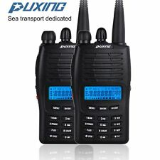2pcs Puxing PX-777 Two Way Radio Single Band VHF 136-174MHz 5W Built in FM Radio