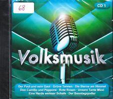 Jahrtausend Hits der Volksmusik + CD + Volume 1 + 14 starke Stücke + NEU + OVP +