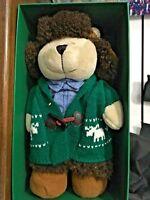 NIB  Starbucks Bearista 118th Edition Holiday Christmas Boy Bear 2016 Lot of 8