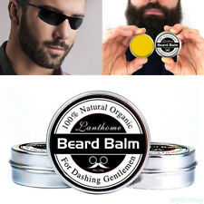 30g Beard Balm Natural Oil Conditioner Beard Care Moustache Wax Men NEW