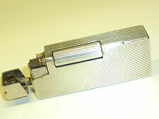 """BACH & COOPER (DUNHILL """"ROLLBOY"""") SOLID SILVER LIFTARM LIGHTER -1954 - ENGLAND"""