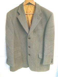 """Brook Taverner green keepers tweed jacket 42""""Short"""