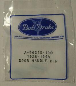 NOS Ford Door Handle Window Crank Pin Set of 4 1928-1948 Repro New Bob Drake Vtg