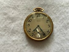 Elgin 17 Jewels Mechanical Wind Up Vintage Pocket Watch
