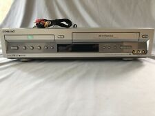 Sony SLV-D100 DVD/VCR/VHS Player with AV Cables Tested Guaranteed