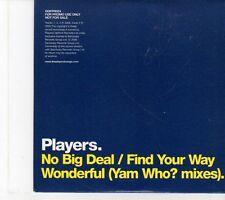 (EY482) Players, No Big Deal - 2005 DJ CD