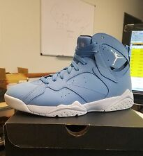 NEW NIKE AIR JORDAN 7 RETRO PANTONE FRENCH UNIVERSITY BLUE UNC 304775-400 SZ14