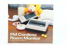 Radio Shack Realistic FM Cordless Room Monitor Baby - Model 43-202