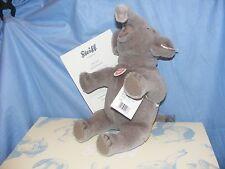 Steiff Nelly l'elefante bassa Limited Edition - 28 cm-EAN 021688 GRIGIO