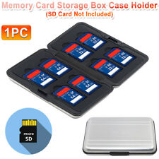Memory Card Wallet Case 16 Micro Card SDHC Protecter Storage Pouch Holder IN USA