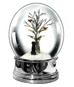 Heaven Sends Black Labrador Christmas Snow Globe - Christmas Decorations