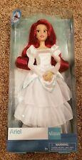 "Disney Princess The Little Mermaid Ariel Wedding Doll 11 1/2"" NEW"