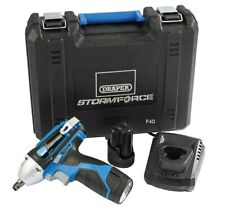 """DRAPER 10.8V LITHIUM 3/8"""" CORDLESS IMPACT WRENCH 2 BATTERIES & CHARGER 78584 NEW"""