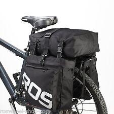 35-LTR 3-in-1 TRIPLE PANNIER SET bike bicycle rear bag shoulder bag Roswheel