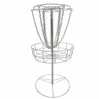 Titan Disc Golf Basket Double Chains Portable Practice Target Steel Frisbee | V2