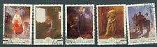Russland Briefmarken 1979 Ukrainische Gemälde Mi.Nr.4893-97