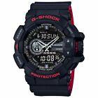 Casio G-SHOCK GA400HR-1A Black Red Super Illuminator Analog Digital Men's Watch