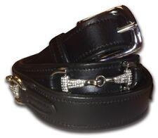 *REDUCED* Equetech Snaffle Crystal Belt - Black