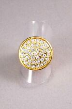 Judith Williams Ring Gr17 Kristalle vergoldet NEU