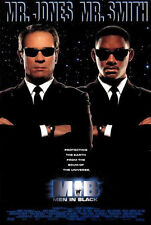 MEN IN BLACK 1997 Advance Teaser Rare Glossy DS 2 Sided Movie Poster Will Smith