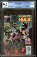 Planet Hulk Giant Size HULK #1 CGC 9.4 White Pages Champions Appear 2042653009