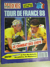 MIROIR DU CYCLISME N°407: JUIN 1988: TOUR DE FRANCE 1988 - FIGNON - J.F. BERNARD
