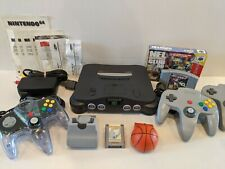 Nintendo 64 N64 Console w/ 2 Games, 3 Controllers, & Manuals