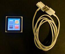 Apple iPod nano 6th Generation 8Gb A1366- Silver - Used