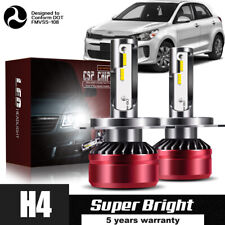 9003 H4 Motorcycle LED Headlight Bulbs Kit High&Low Beam Best 60W 6000K DWR