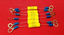 LOT OF 6 .22uF MKP C.4G 450VDC Arcotronics Capacitors