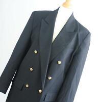 Womens Black Suit Jacket 12 Suit Essential Polyester Regular Hip Length Plain