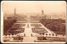 Allemagne. Carlsruhe. Photographe Louis Doering. Vers 1890