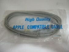 Vintage Apple Mac Serial Extension Cable 10ft  M/M Male to Male DIN-8 DIN8