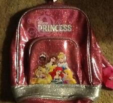 Disney Princess Small Backpack With Front Pocket For Girls New With Tags