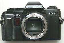 MINOLTA X-300S FILM SLR WITH ADR - WORKING ORDER