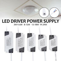 Lot 5X 3-24W Dimmable Panel LED Light Driver Transformer Power Supply AC 86-265V