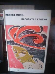 Racconti E Teatro Robert Musil Einaudi Supercoralli