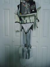 NEW Child's size Medium 8-10 Star Wars Stormtrooper 4 Piece Costume