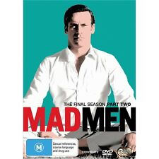 MAD MEN-Season 7, Part 2-Region 4-New AND Sealed-3 Disc Set-TV Series